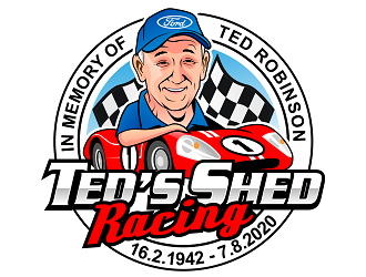 Teds Shed Racing logo design