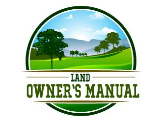 Land Owners Manual logo design by uttam