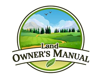 Land Owners Manual logo design by PrimalGraphics