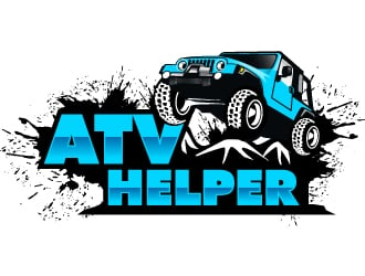 ATV Helper logo design