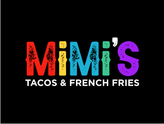 MiMis    Tacos & French Fries logo design