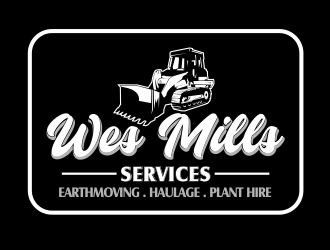WES MILLS SERVICES logo design winner
