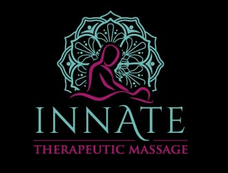 Innate Therapeutic Massage logo design
