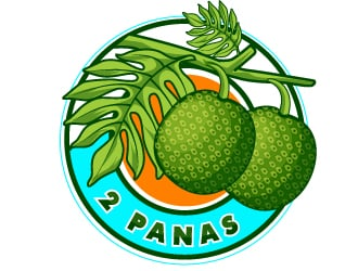 2Panas logo design winner