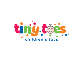 Tiny Toes logo design