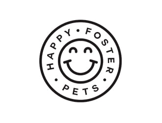 Happy Foster Pets logo design winner