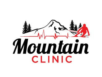Mountain Clinic logo design