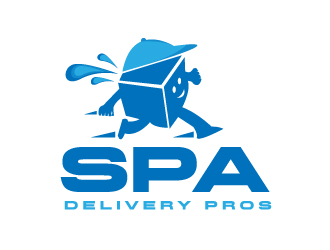 Spa Delivery Pros logo design by drifelm