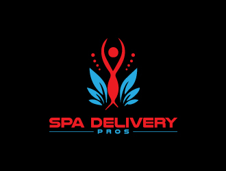 Spa Delivery Pros logo design by sunny070