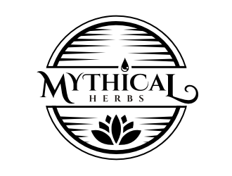 Mythical herbs logo design