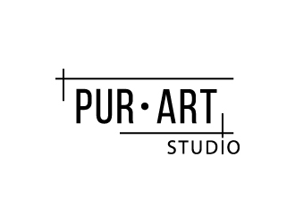 pur•art studio (purart studio) logo design by gateout