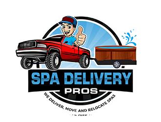 Spa Delivery Pros logo design by PrimalGraphics