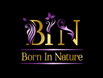 Born In Nature logo design