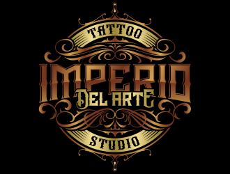 Imperio del Arte Tattoo Studio logo design winner