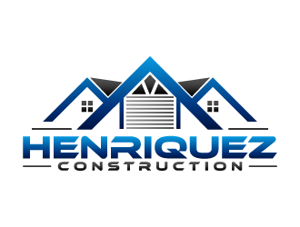 Henriquez Construction logo design winner