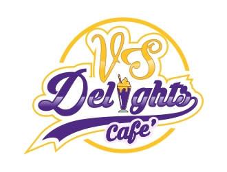 Vs Delights logo design