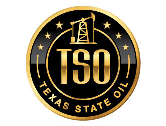 Texas State Oil  logo design