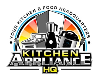 Kitchen Appliance HQ logo design winner