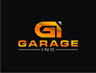 Garage Ink logo design by bricton
