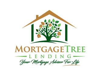 MortgageTree Lending  logo design by akilis13