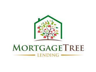 MortgageTree Lending  logo design by dodihanz