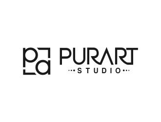 pur•art studio (purart studio) logo design by MRANTASI