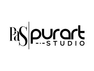 pur•art studio (purart studio) logo design by Gwerth