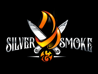 Silver & Smoke logo design