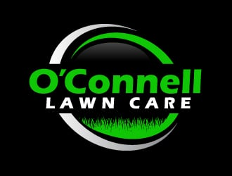 Oconnell lawn care logo design
