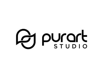 pur•art studio (purart studio) logo design