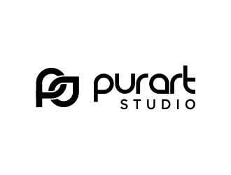 pur•art studio (purart studio) logo design by sarungan