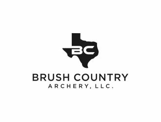 Brush Country Archery, LLC. logo design