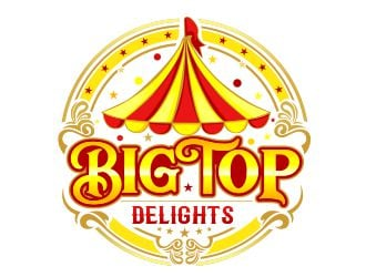 Big Top Delights logo design
