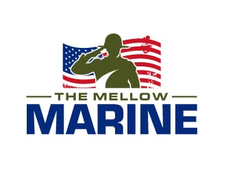 The Mellow Marine logo design