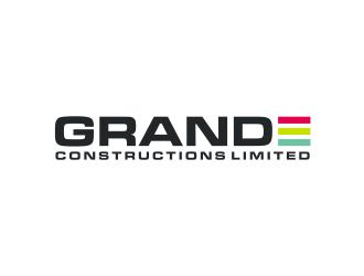 Grande constructions limited  logo design