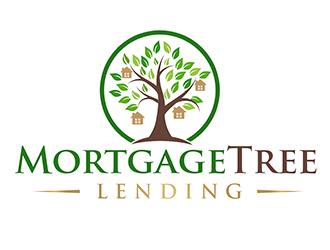 MortgageTree Lending  logo design