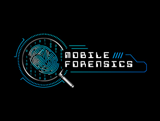 NZ Mobile Forensics logo design winner