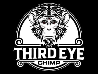 Third Eye Chimp logo design