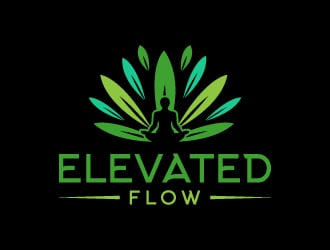 The Elevated Flow  logo design