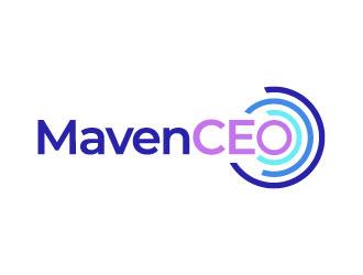 MavenCEO logo design