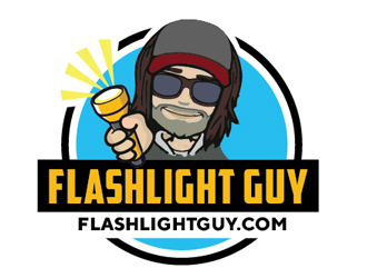Flash light website and blog logo design