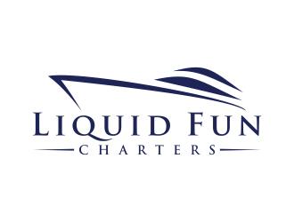 Liquid Fun Charters logo design