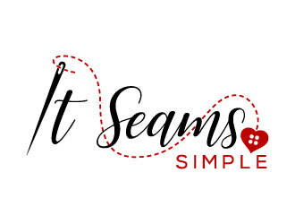 It Seams Simple logo design