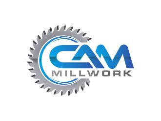 CAM Millwork logo design