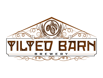 Tilted Barn Brewery logo design