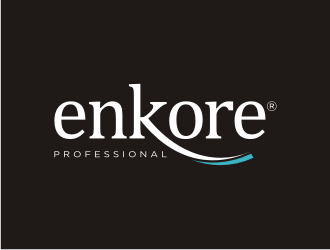 Enkore logo design