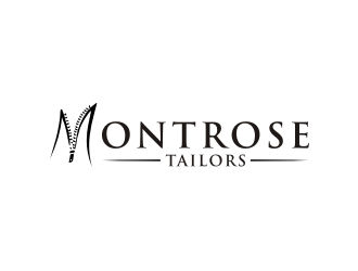 Montrose Tailors logo design