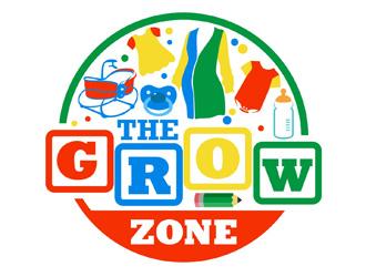 The Grow Zone logo design