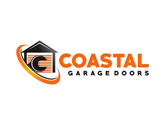 Coastal Garage Doors logo design by gitzart
