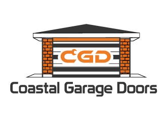 Coastal Garage Doors logo design by Suvendu